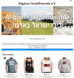 Allgäuer Israelfreunde Fanshop